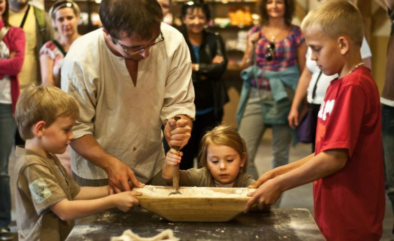 Żywe Muzeum Piernika rodzinne atrakcje