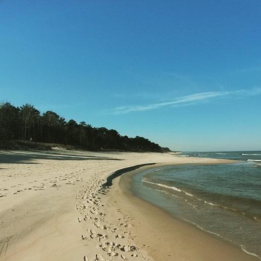 nad morzem najpiękniejsze plaże Półwysep