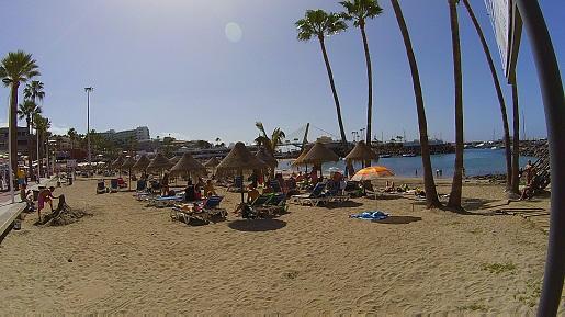 Adeje plaża Teneryfa