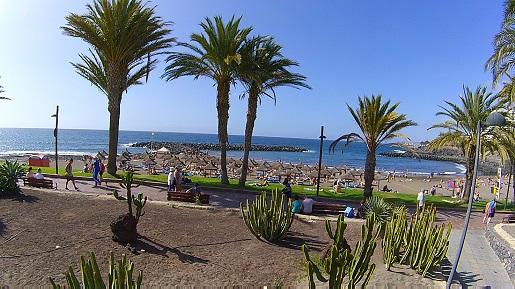 Teneryfa najlepsze plaże z żółtym piaskiem