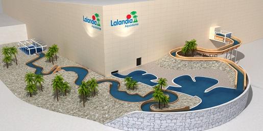 Najdłuższa dzika rzeka Aquapark Lalandia