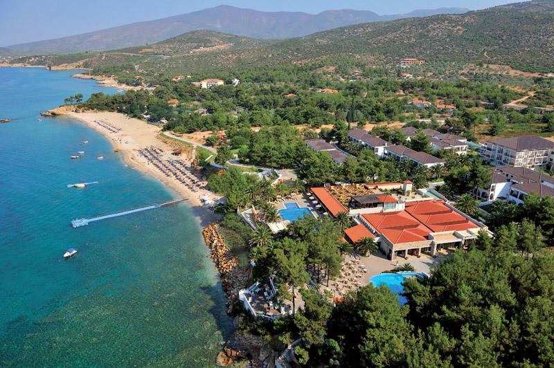 najlepsze hotele dla dzieci Thassos Grecja