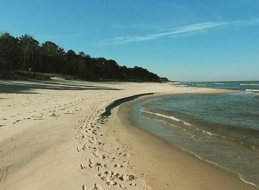 najpiękniejsza ścieżka rowerowa plaże półwysep helski 1
