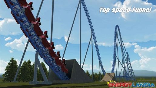 największa kolejka górska w Europie Polsce rollercoaster (1)