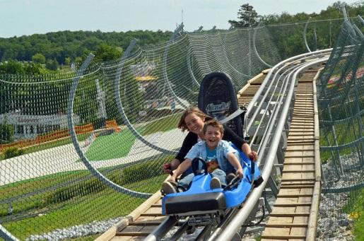największe atrakcje dla dzieci w Polsce - weekend z dzieckiem - Malta Ski