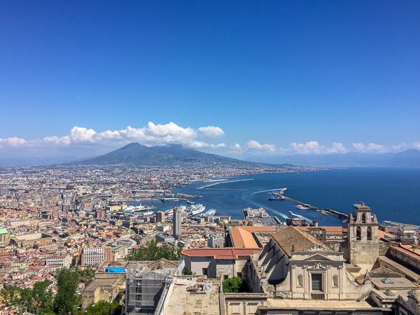 Neapol atrakcje dla dzieci Castel Sant Elmo