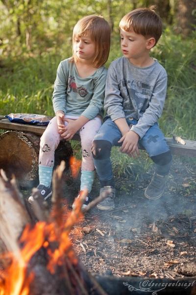 ognisko z dziećmi wakacje 2017