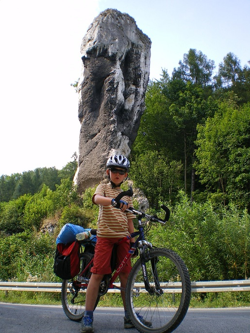 ojcowski park narodowy rowerem z dzieckiem opinie