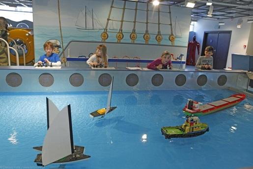 Interaktywna wystawa dla dzieci Ośrodek Kultury Morskiej