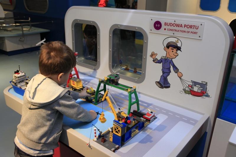 osrodek kultury morskiej interaktywna wystawa dla dzieci gdansk