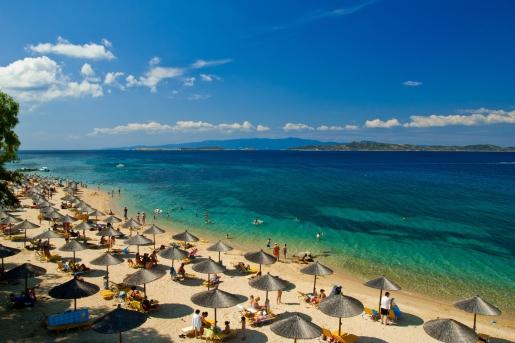 najlepsze plaże Grecja Chalkidiki