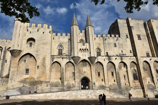 Pałac Papieski Avignon Francja opinie atrakcje