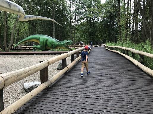 park dinozaurów sławutówko opinie ceny