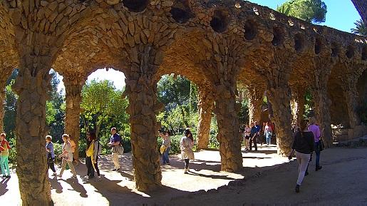 park guell z dzieckiem zwiedzanie opinie gaudi Barcelona (16)