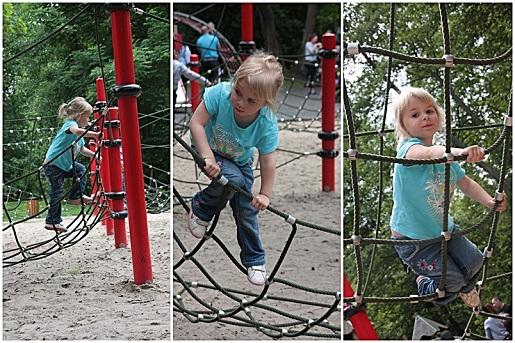 park linowy 1 plac zabaw Wejherowo dla dzieci
