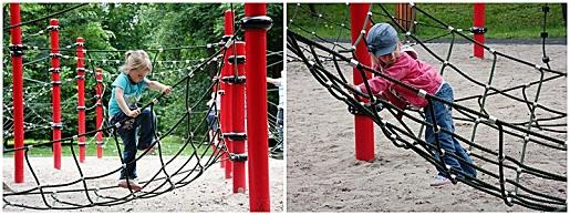 park linowy plac zabaw Wejherowo dla dzieci