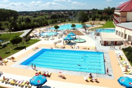 aquapark Mikołajki atrakcje