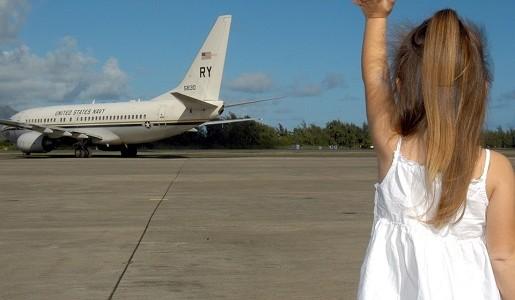 pierwszy lot samolotem dziecko