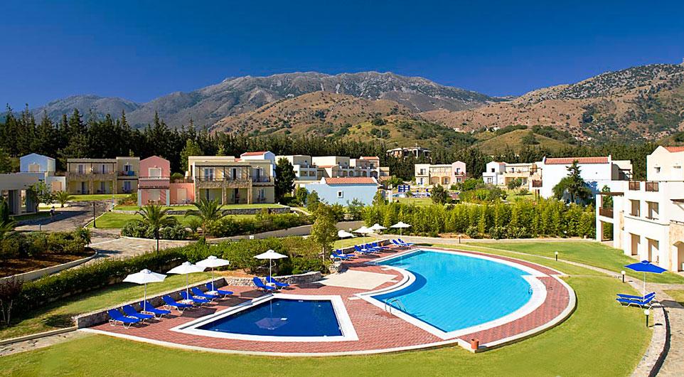 najlepsze rodzinne hotele Georgioupolis Grecja