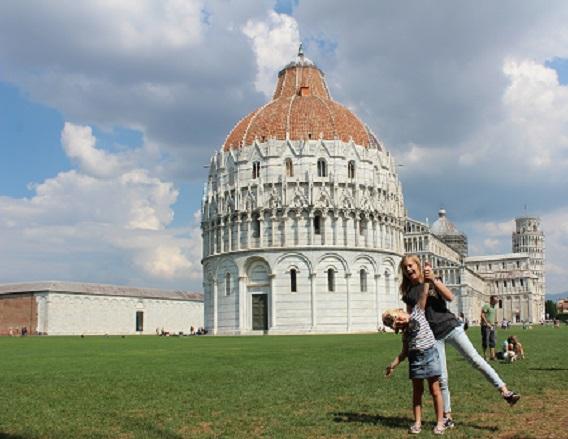 Piza Włochy rodzinne atrakcje