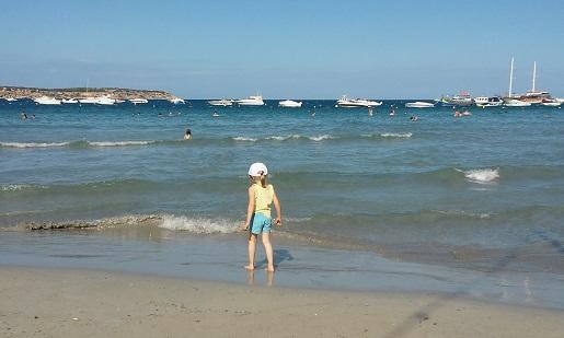 plaża,mellieha Malta