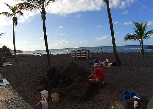 Plaże Puerto de la Cruz Jardin Opinie