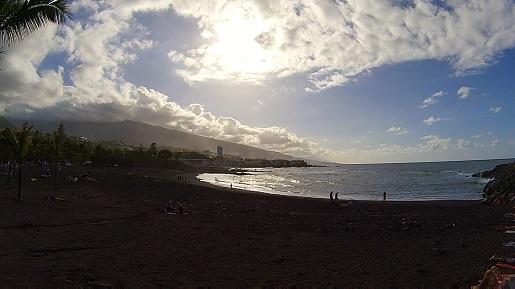 Plaża Jardin - opinie Teneryfa zimą