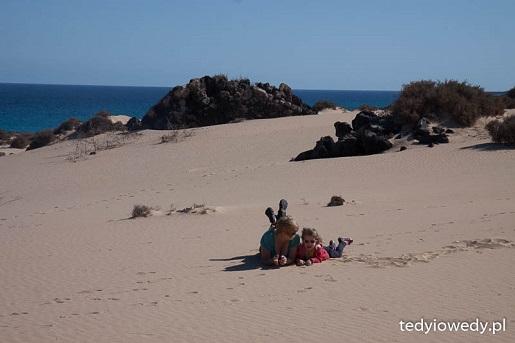 plaże Wyspy Kanaryjskie -  Feuertaventura z dzieckiem