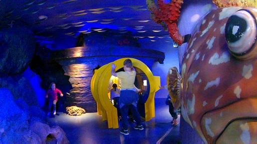 plac zabaw akwarium Barcelona opinie