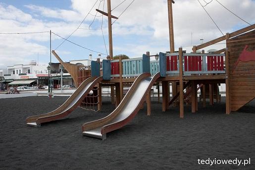 plac zabaw dla dzieci Lanzarote w lutym opinie pogoda