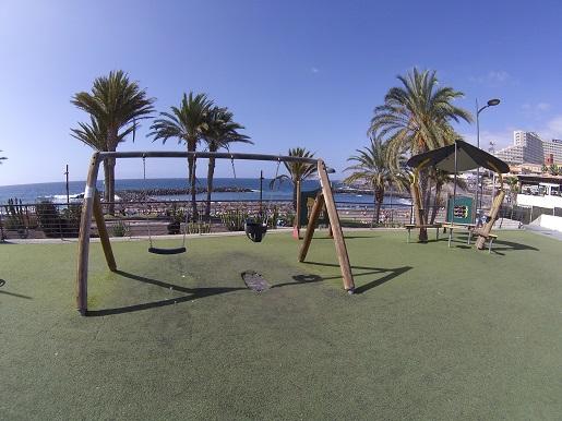 plaże dla dzieci - place zabaw Teneryfa