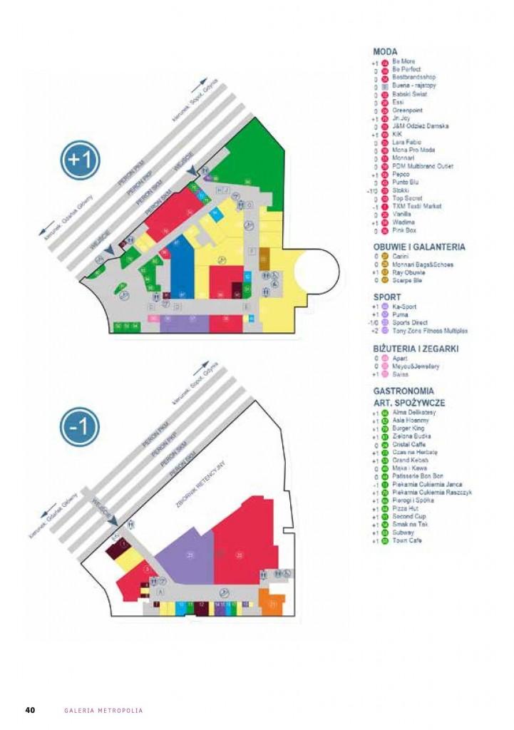 plan galeria metropolia