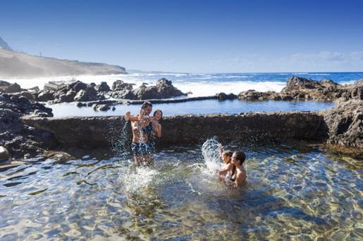 playa piscinas de garachico naturalne baseny Teneryfa plaże