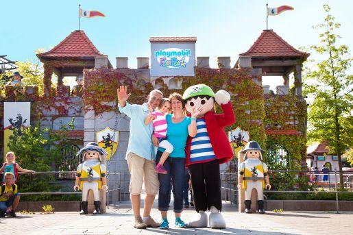najlepsze parki rozrywki Niemcy Playmobil Funpark