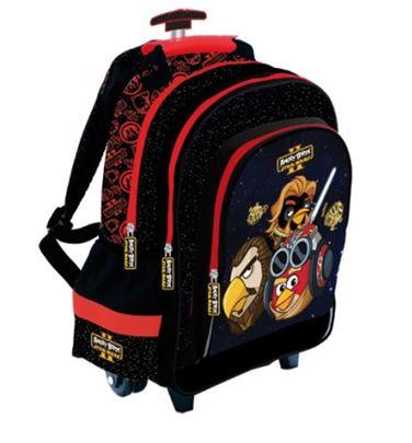 Plecak szkolny z kółkami - Angry Birds