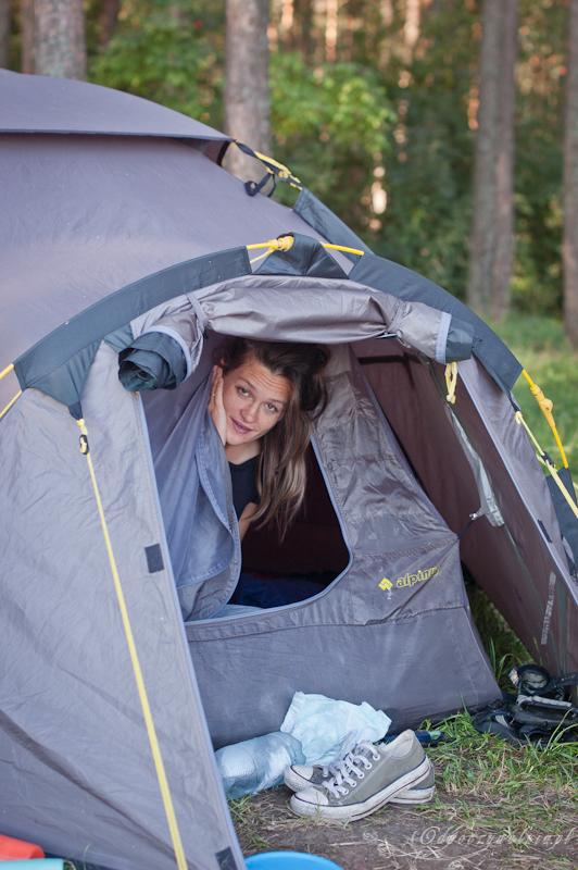 Podlasie camping z dzieckiem zalew Siemianówka