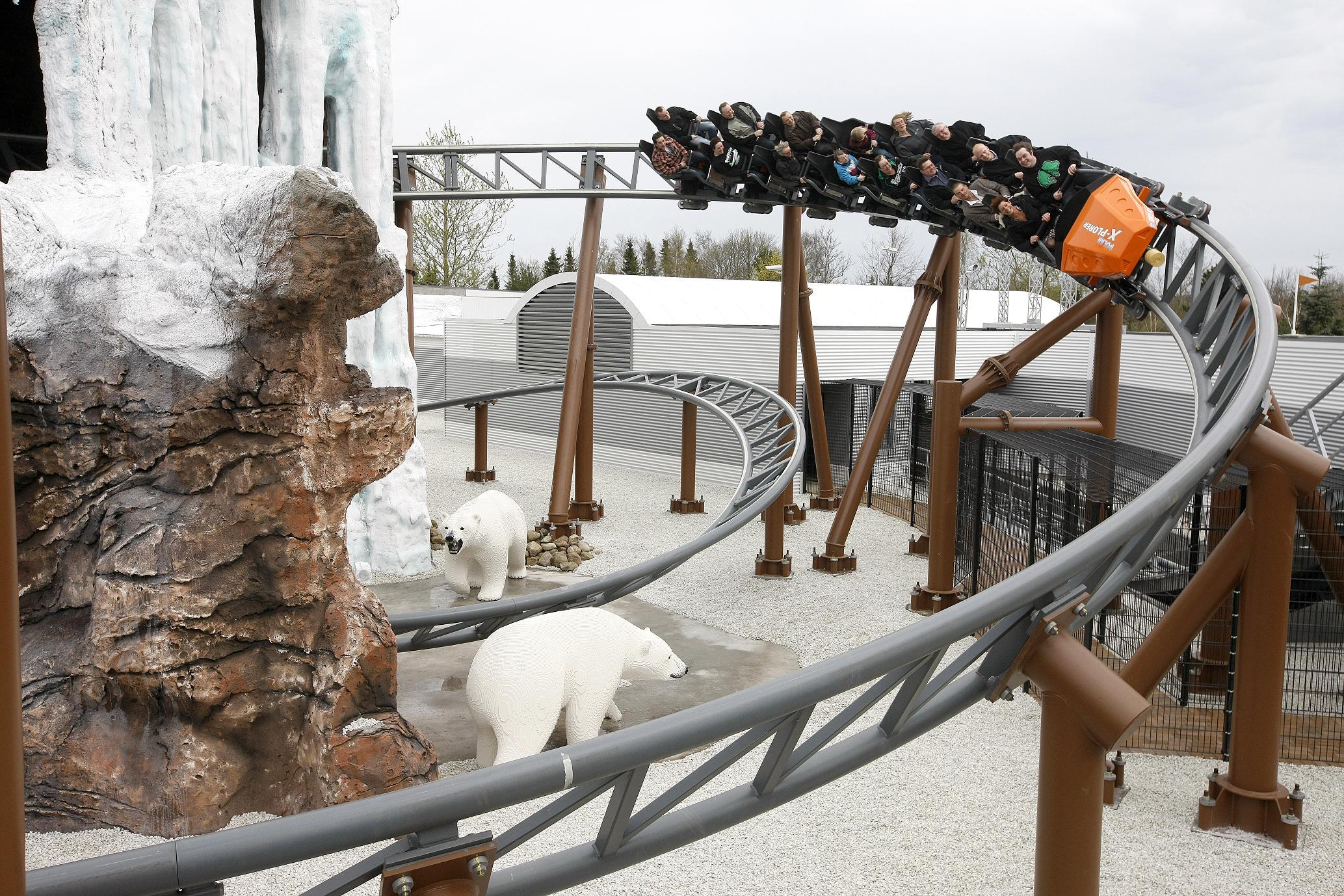 atrakcje dla dzieci kolejka Kraina Polarna