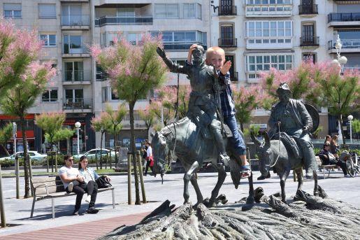 Pomnik don Kichota rodzinne atrakcje