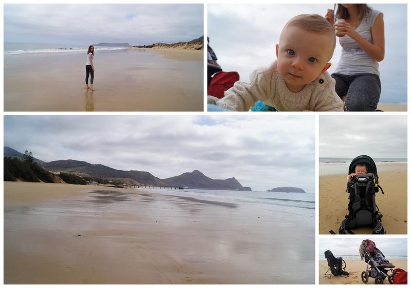 plaża Porto Santo Madera rodzinne atrakcje