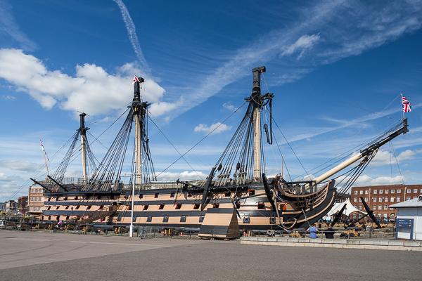 Portsmouth okret Victory opinie atrakcje