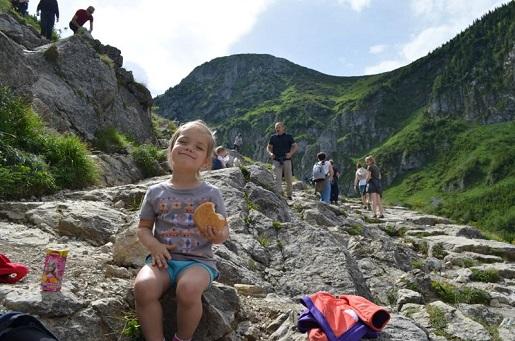 pierwszy postój z dzieckiem w górach