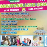 Smaczne Powitanie Lata 2014 w Łebie