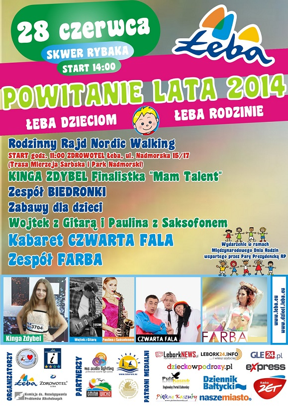 Powitanie lata Łeba 2014