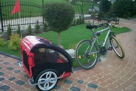 Przyczepka rowerowa dla dziecka - dla niemowlaka