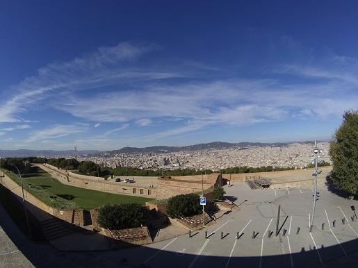 punkt widokowy Barcelona Wzgórze Montjuïc atrakcje dla dzieci