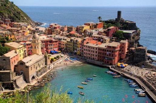 riwiera włoska - gdzie nad morze do Włoch z dzieckiem