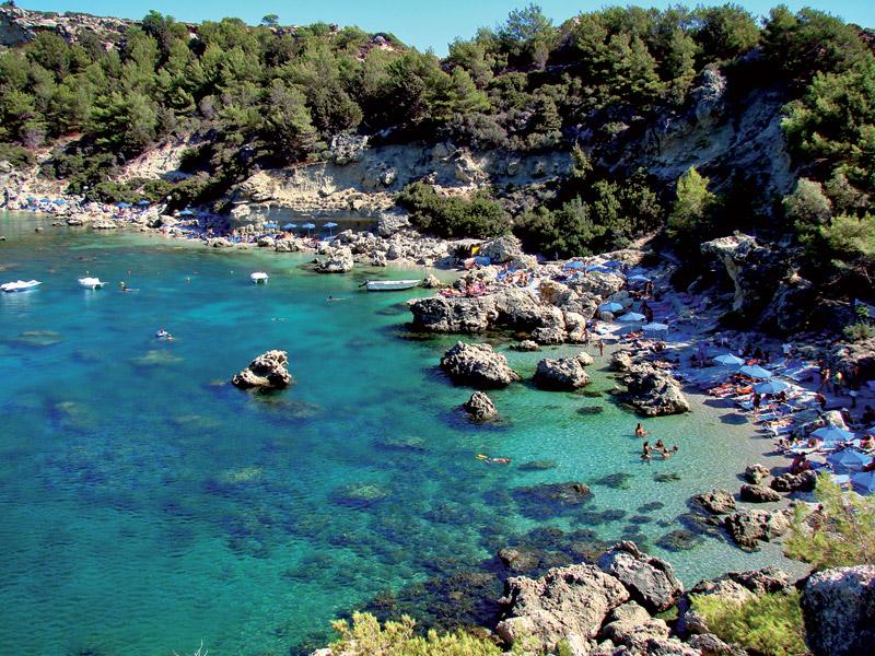 Grecja wakacje z dzieckiem Rodos plaże opinie
