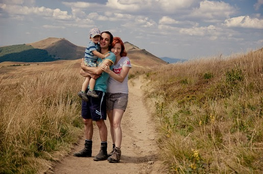 Rodzinna wycieczka Bieszczady