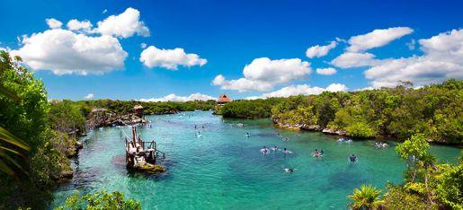 Xel-Ha rodzinne atrakcje Meksyk