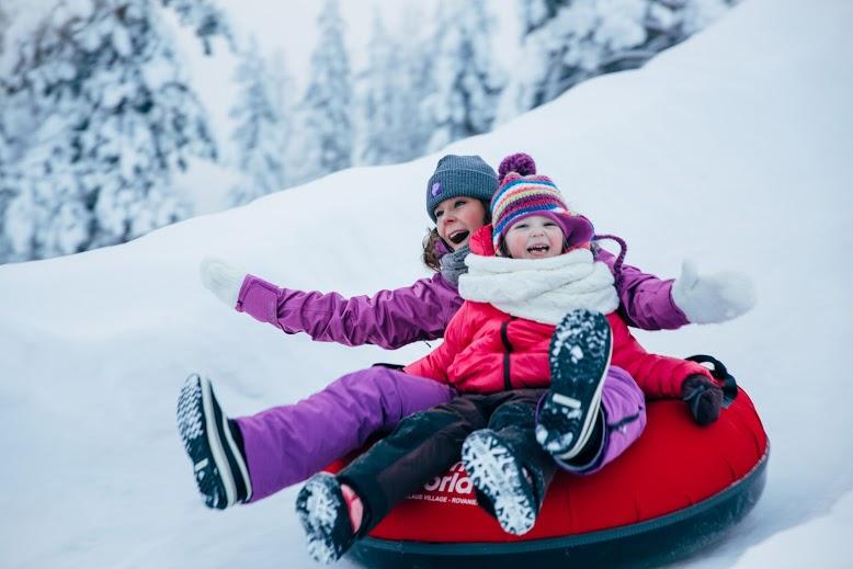 Rovaniemi sporty zimowe atrakcje dla dzieci